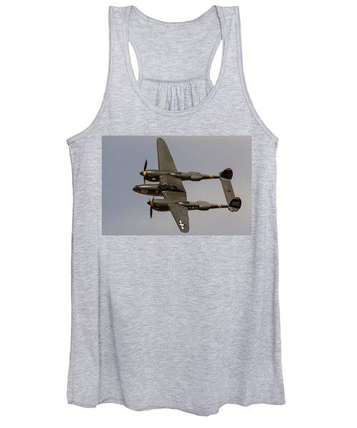 P-38 Skidoo Women's Tank Top