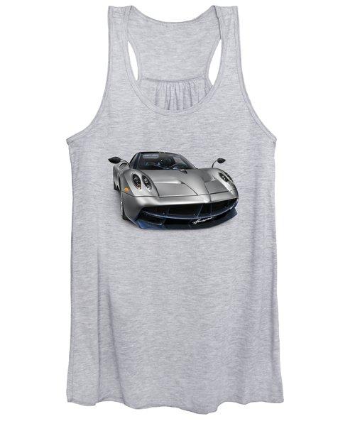 Pagani Huayra Exotic Sports Car Women's Tank Top