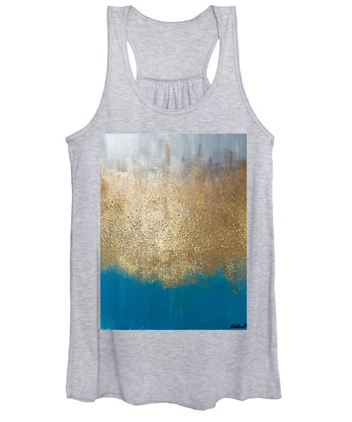Paint The Sky Gold Women's Tank Top