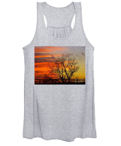 Painted By The Sun Women's Tank Top