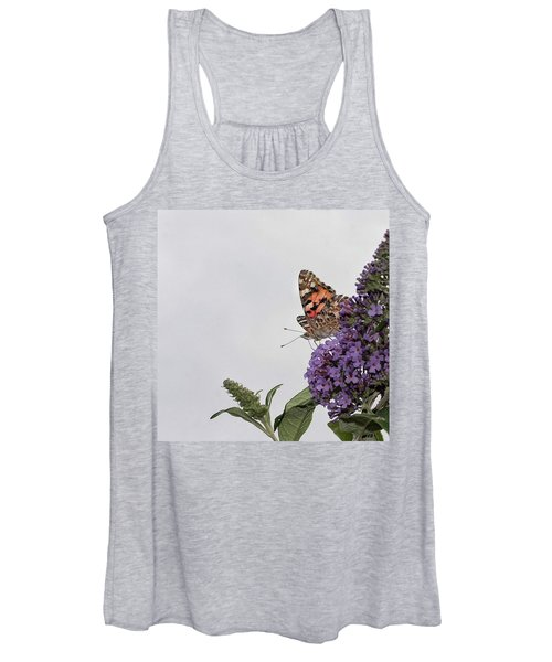 Painted Lady (vanessa Cardui) Women's Tank Top