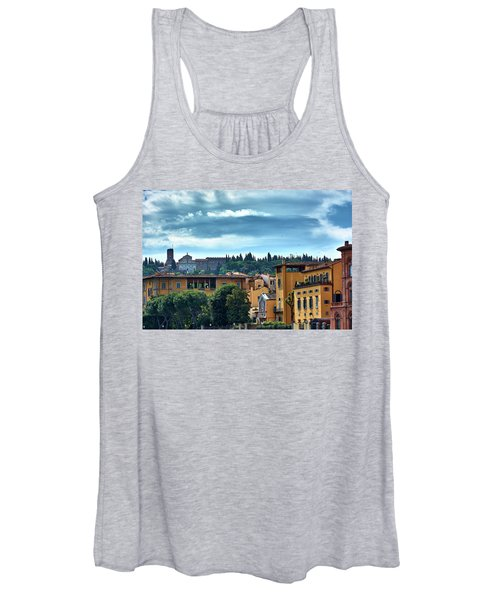 Painted On The Existence Women's Tank Top
