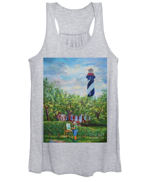 Painting The Light Women's Tank Top