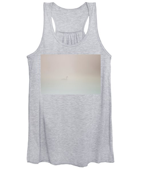 Pale Outline In The Fog Women's Tank Top