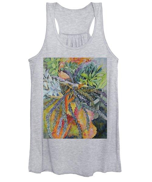 Palm Springs Cacti Garden Women's Tank Top