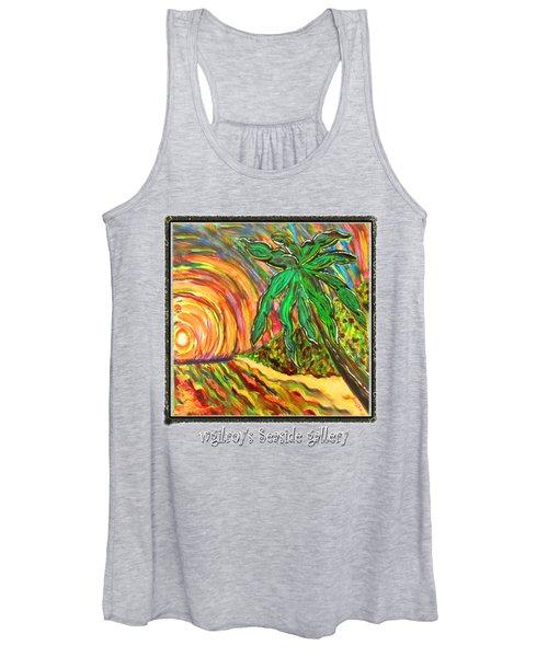 Palm Sunrise Sunset Women's Tank Top