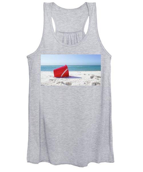 Panama Beach Florida Sandy Beach Women's Tank Top