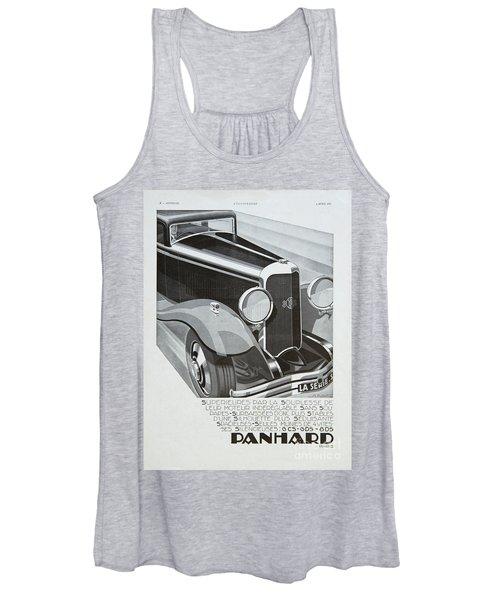 Panhard #8701 Women's Tank Top