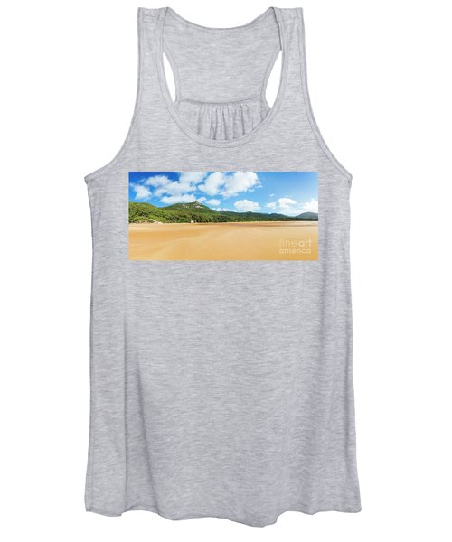 Panorama Of Sealers Cove Landscape Women's Tank Top