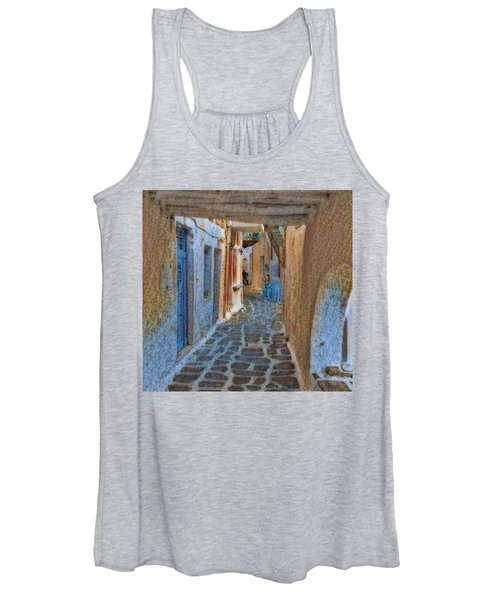 Paros Beauty Island Greece  Women's Tank Top