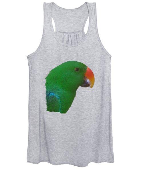 Parrot Head Women's Tank Top