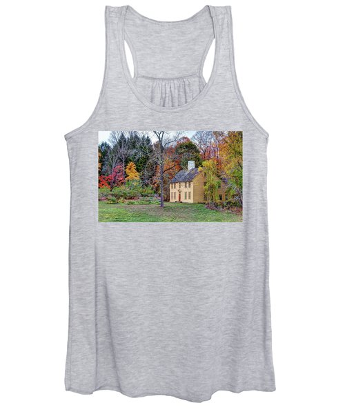 Parson Barnard House In Autumn Women's Tank Top