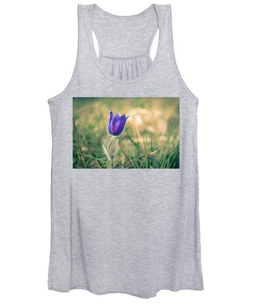 Pasque Flower Women's Tank Top