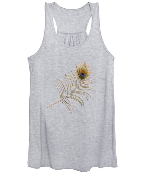 Peacock Feather Women's Tank Top