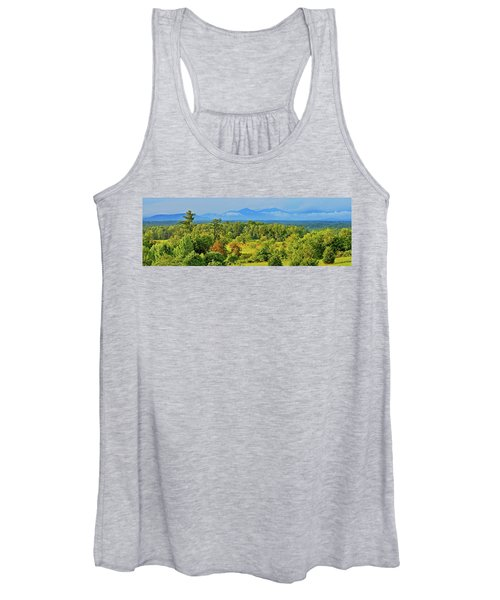 Peaks Of Otter Rainstorm Women's Tank Top