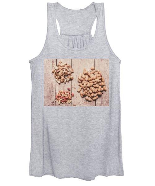 Peanut Shelling Women's Tank Top
