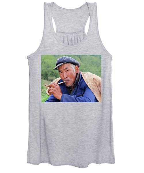 Women's Tank Top featuring the photograph Peasant Farmer by Marla Craven