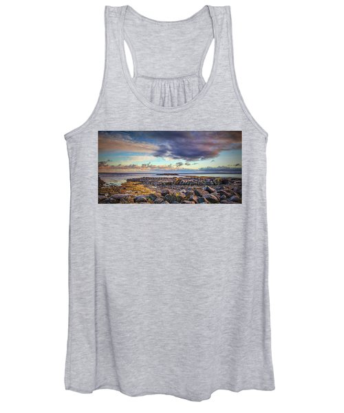 Pebbles And Sky  #h4 Women's Tank Top