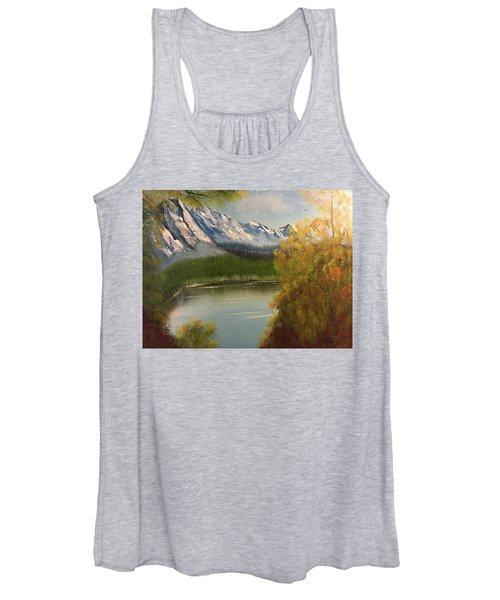 Peek-a-boo Mountain Women's Tank Top