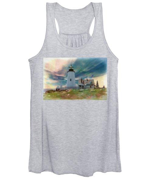 Pemaquid Lighthouse,maine Women's Tank Top