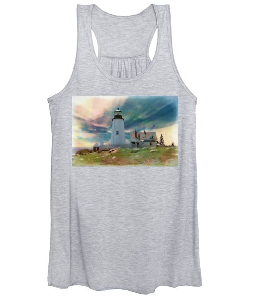 Pemaquid Lighthouse,maine Women's Tank Top