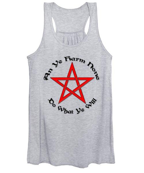 Pentagram Women's Tank Top