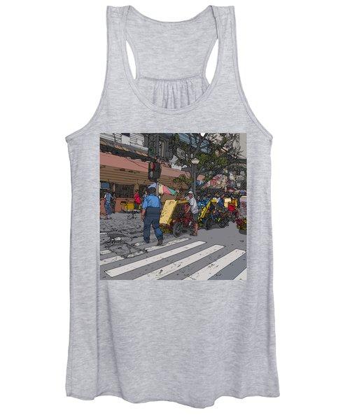 Philippines 906 Crosswalk Women's Tank Top
