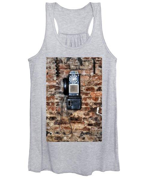 Pay Phone  Women's Tank Top