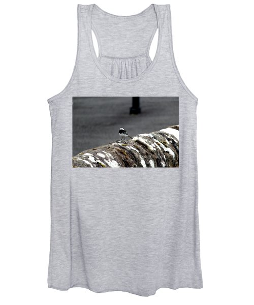 Pied Wagtail Women's Tank Top