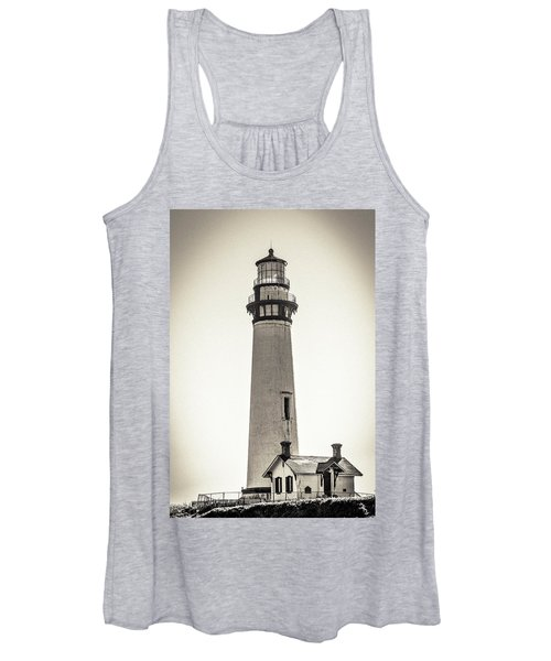 Pigeon Point Lighthouse Women's Tank Top