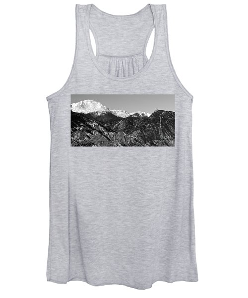 Pikes Peak And Incline 36 By 18 Women's Tank Top