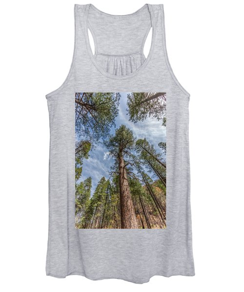 Pine Cathedral On The West Fork Women's Tank Top