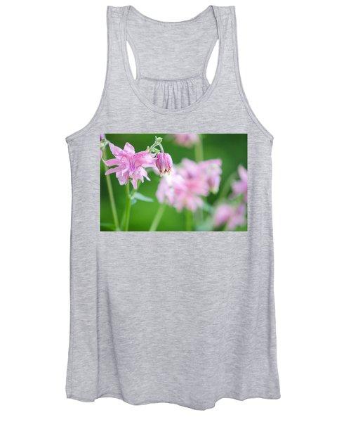 Pink Columbine Women's Tank Top