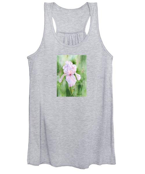 Pink Iris Women's Tank Top