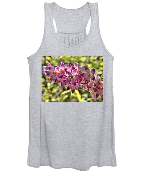 Pink Ladies In Spring Glory Women's Tank Top