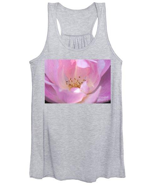Pink Swirls Women's Tank Top