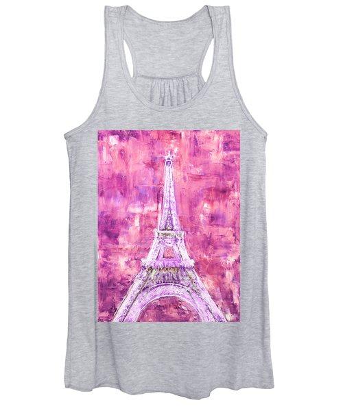 Pink Tower Women's Tank Top