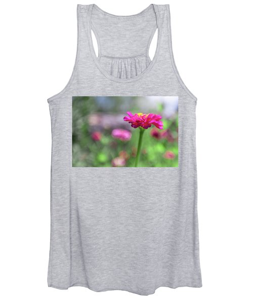 Pink Zinnia Women's Tank Top
