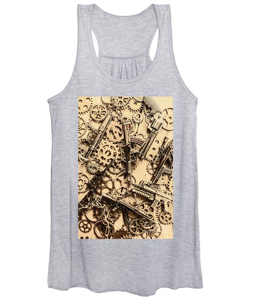 Pistol Parts And Rifle Pinions Women's Tank Top