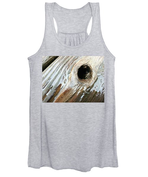 Planking The Right Way? Women's Tank Top