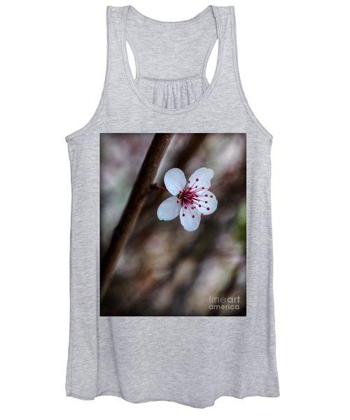 Plum Flower Women's Tank Top