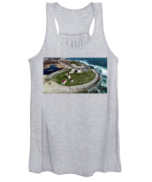Point Judith Easter Cross Women's Tank Top