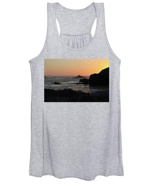 Point Lobos Sunset Women's Tank Top