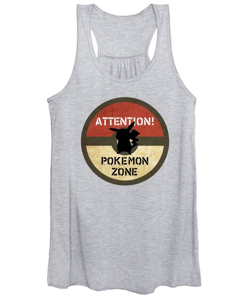 Pokemon Zone 3 Women's Tank Top