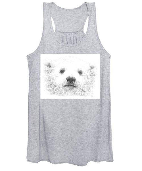 Polar Bear Cub Women's Tank Top