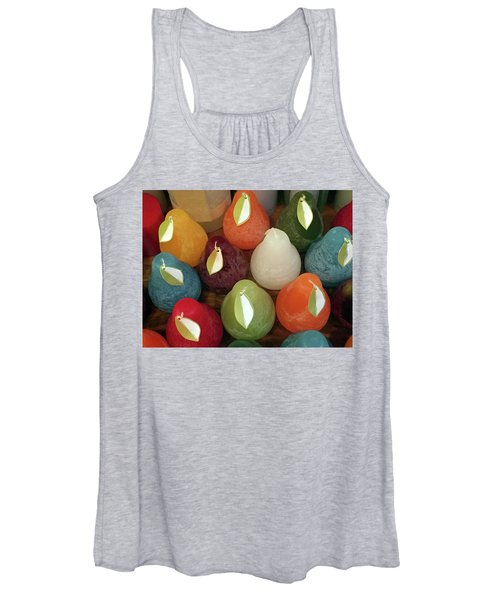 Polychromatic Pears Women's Tank Top