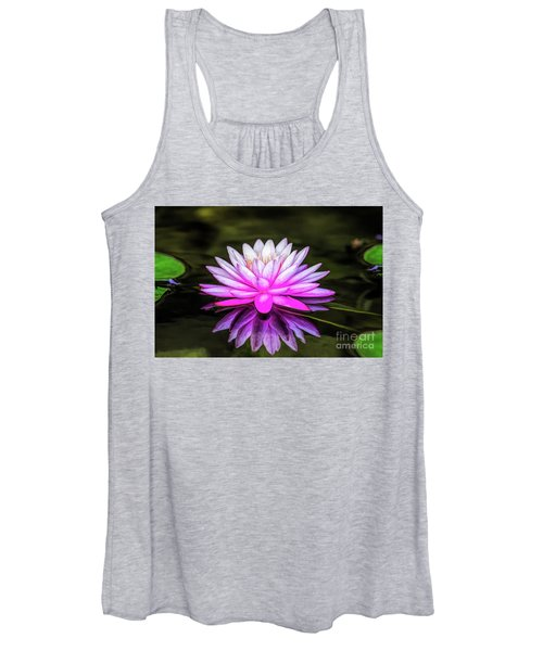 Pond Water Lily Women's Tank Top
