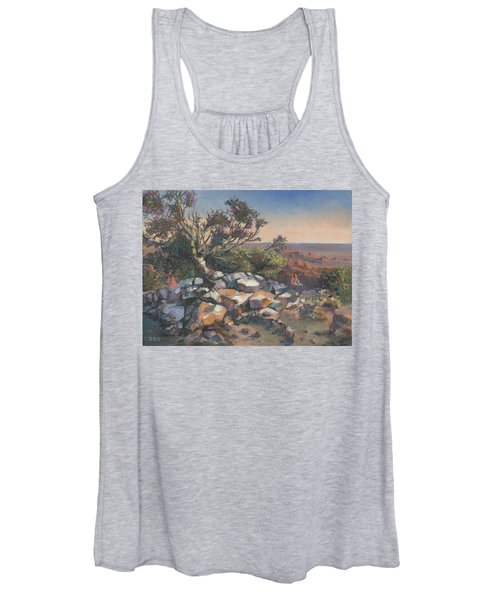 Pondering By The Canyon Women's Tank Top