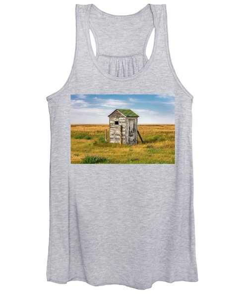 Pendroy Outhouse Women's Tank Top
