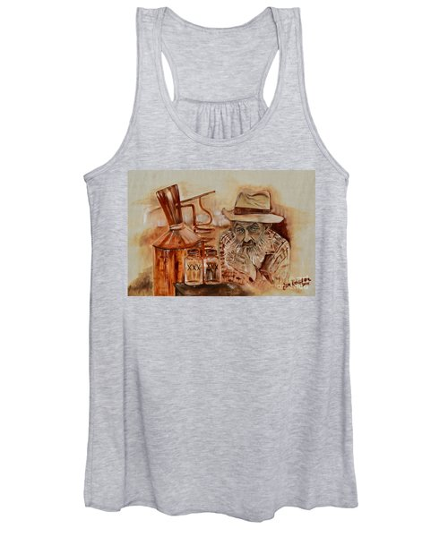 Popcorn Sutton - Waiting On Shine Women's Tank Top
